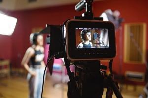 Video opnemen in de studio